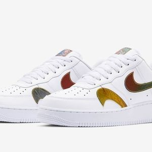 🏆🏆HP AF1 Multi Metallic Misplaced Swoosh